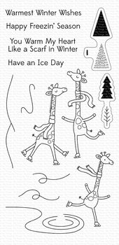 MY FAVORITE THINGS -Giraffes on Ice