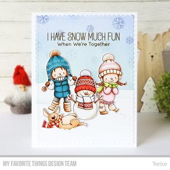 MY FAVORITE THINGS -BB Snow Buddies