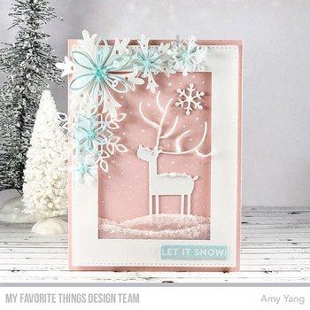 MY FAVORITE THINGS-Layered Snowflakes Die-namics