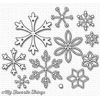 MY FAVORITE THINGS-Layered Snowflakes Die-namics