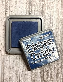 DISTRESS OXIDE-  TIM HOLTZ INK PAD-Chipped Sapphire