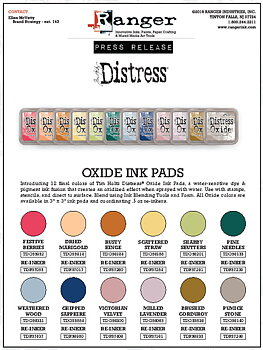 DISTRESS OXIDE-  TIM HOLTZ INK PAD-Pine Needles