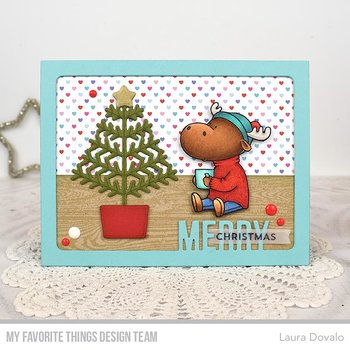 MY FAVORITE THINGS -BB Merry Christmoose Die-namics