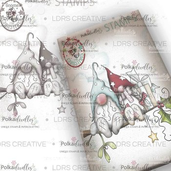Polkadoodles - Gnome -Christmas Love Clear Stamp