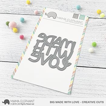 MAMA ELEPHANT-BIG MADE WITH LOVE - CREATIVE CUTS