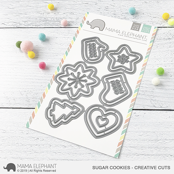 MAMA ELEPHANT-SUGAR COOKIES - CREATIVE CUTS