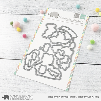 MAMA ELEPHANT-CRAFTED WITH LOVE - CREATIVE CUTS