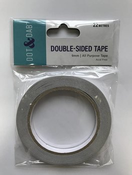 Trimcraft Dot & Dab Double Sided Tape  9mm