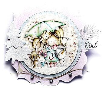 Polkadoodles -Winnie Winter Wishes