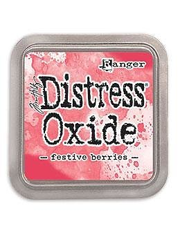 DISTRESS OXIDE-  TIM HOLTZ INK PAD-Festive Berries