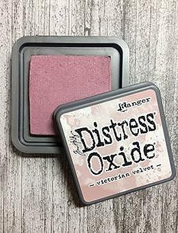 DISTRESS OXIDE-  TIM HOLTZ INK PAD-Victorian Velvet