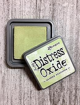 DISTRESS OXIDE-  TIM HOLTZ INK PAD-Shabby Shutters