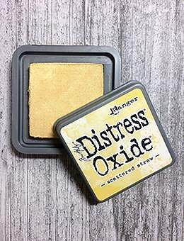 Tim Holtz Distress  Oxide  Ink Pad Scattered Straw