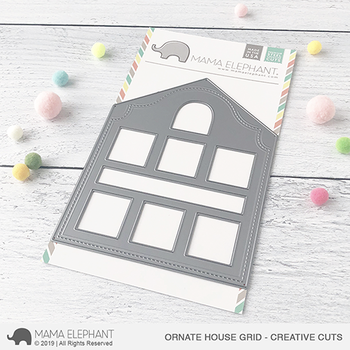 MAMA ELEPHANT-ORNATE HOUSE GRID - CREATIVE CUTS