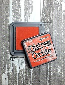 Tim Holtz Distress  Oxide  Ink Pad -Ripe Persimmon