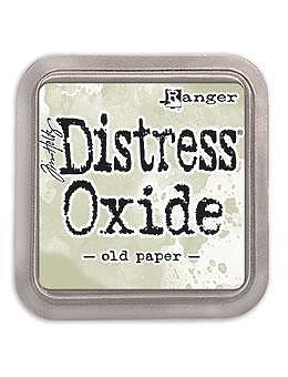 Tim Holtz Distress  Oxide  Ink Pad -Old Paper
