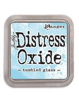 Tim Holtz Distress  Oxide  Ink Pad -Tumbled Glass