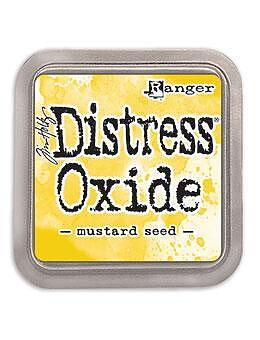 Tim Holtz Distress  Oxide  Ink Pad -Mustard Seed
