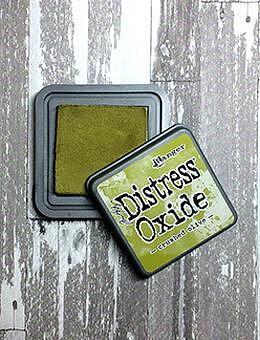 Tim Holtz Distress  Oxide  Ink Pad -Crushed Olive