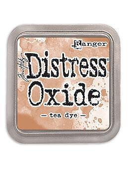 Tim Holtz Distress  Oxide  Ink Pad -Tea Dye