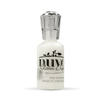 Tonic Studios Nuvo glitter drops 30ml white blizzard