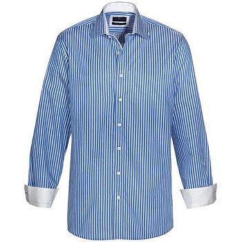 Skjorta WILSON mellanblå comfort fit