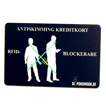 Antiskimming Kreditkort