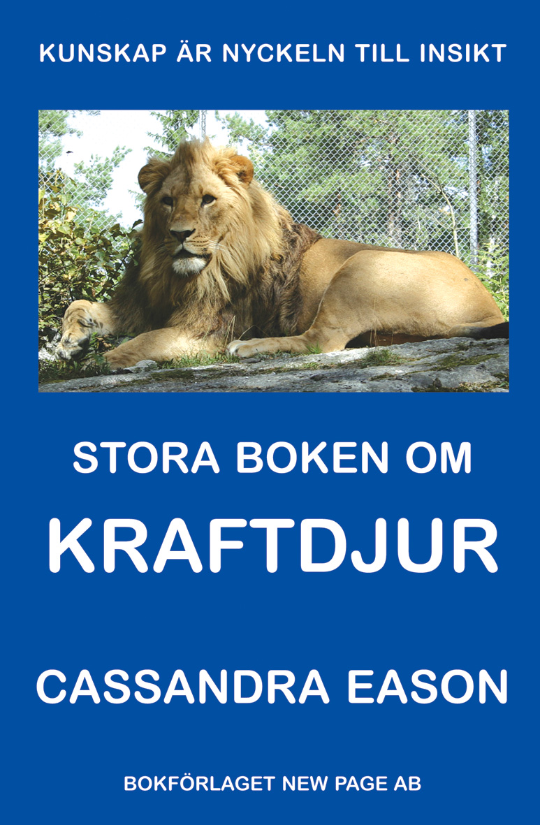 Stora boken om kraftdjur av Cassandra Eason