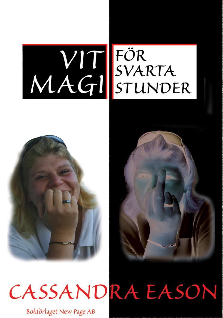 Vit magi för svarta stunder av Cassandra Eason