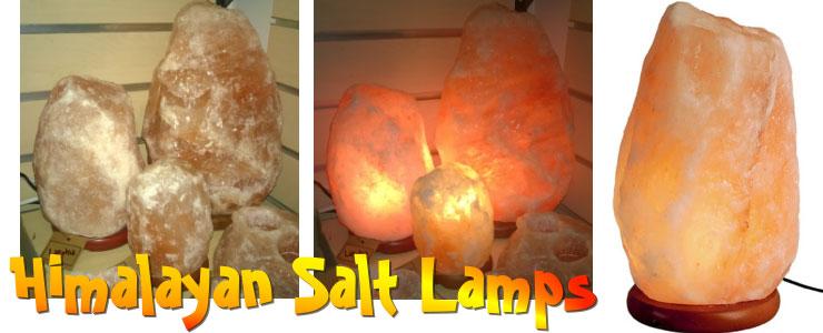 salt kristall lampa vit