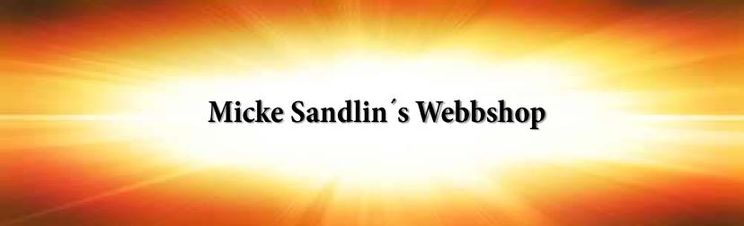 Mikael Sandlins Webbshop