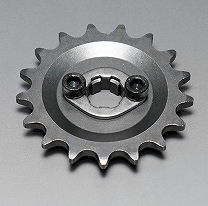 Front sprocket off-set 4mm