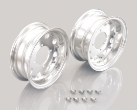 "8"" Kitaco alloy rim set 8hole design"