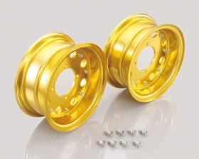 "8"" Kitaco alloy rim set 8hole design Gold"