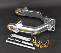 Aluminium svingarm G'Craft style +6 cm