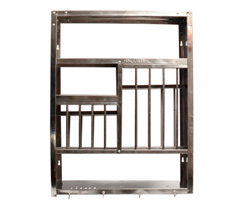 Shelf Stainless steel W61 x H79 Kitchen stand