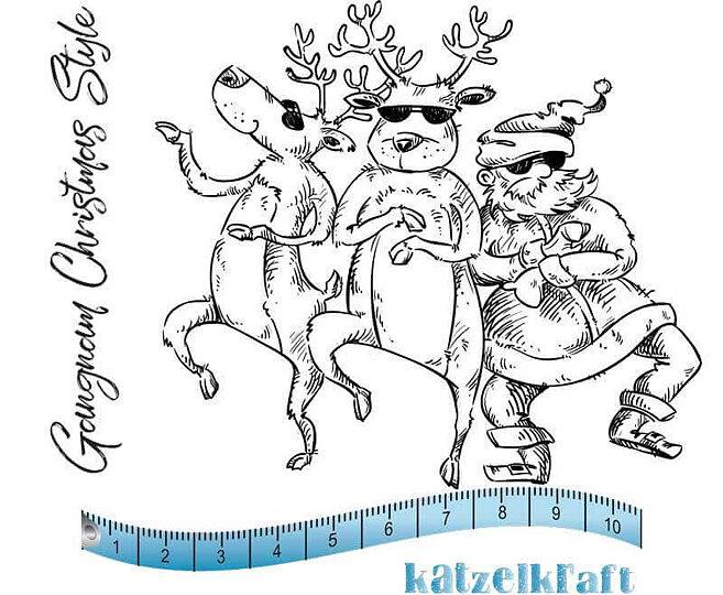 Katzelkraft - Gangnam Christmas Style