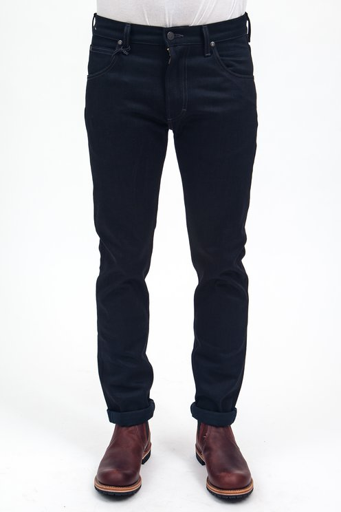 classic styles cheapest info for Lee 101 - Rider Slim Black Selvage - Meadow