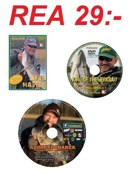 Fiskefilmer DVD REA!