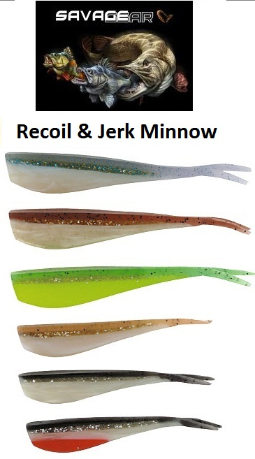 SG LB Jerk Minnow & Recoil