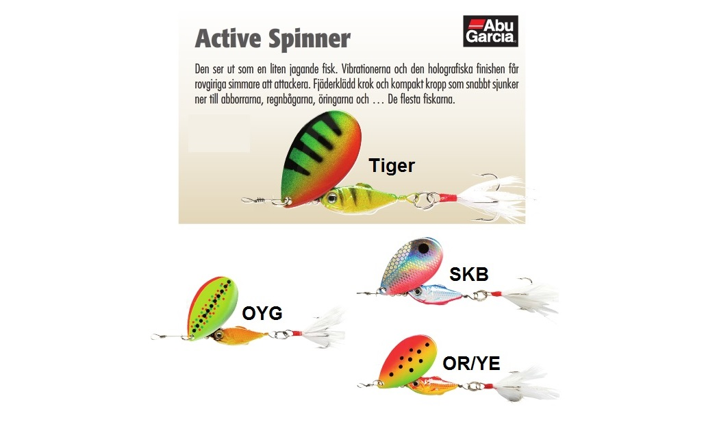 ABU Active Spinner