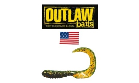 Curly Tail (Outlaw baits & Kinetic)