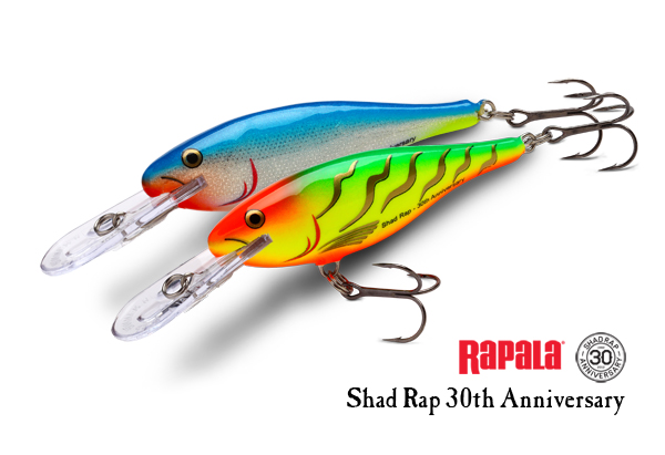Rapala Shad Rap 30th Anniversary Limited Edition!