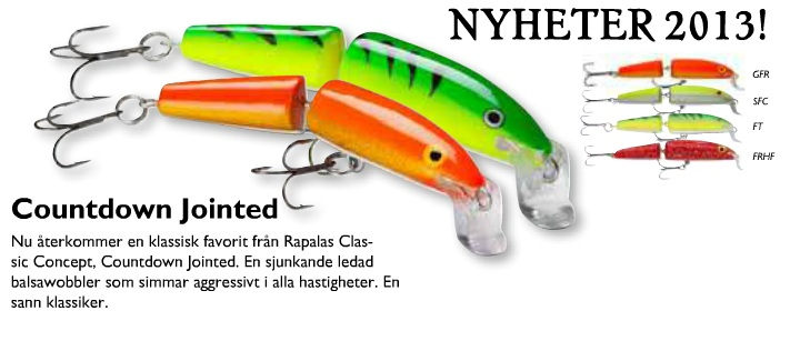 Rapala jointed sinking