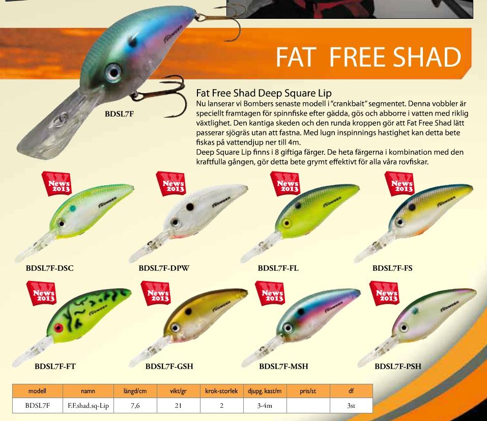 Fat Free Shad (7,6cm 21g)