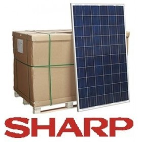 Sharp solcell Poly 250 w