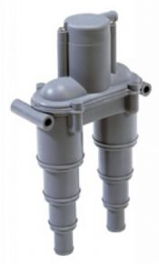 Vakuumventil med inbyggd ventil
