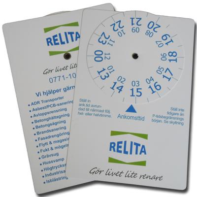 P-skiva Relita