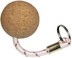 nyckelring i kork