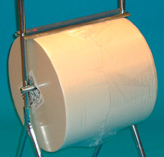 Torkduk-A rulle vit 34 cm